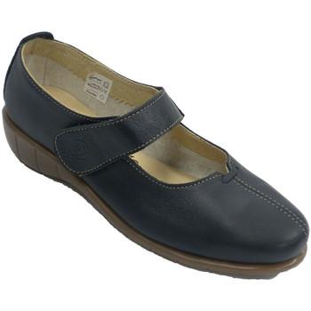 Chaussures Femme Ballerines / babies 48 Horas Chaussure femme avec ceinture type merce azul