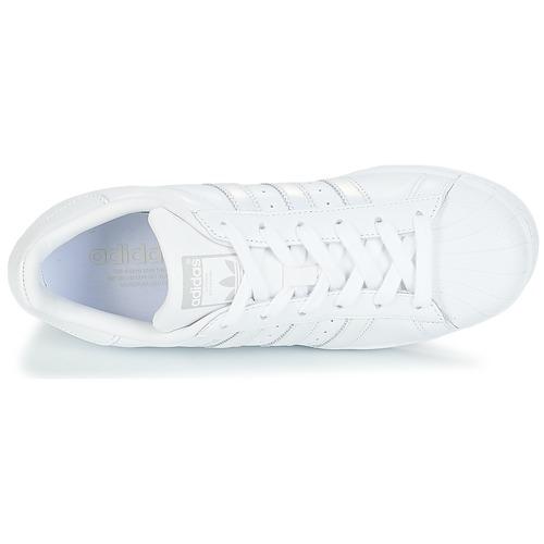 Chaussures BlancArgenté Originals Superstar Femme Adidas Basses W Baskets 3ALjq54R