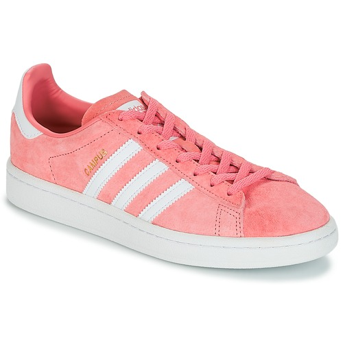 adidas Originals CAMPUS W Rose  - Chaussures Baskets basses Femme