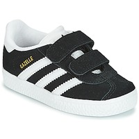 Chaussures Enfant Baskets basses adidas Originals GAZELLE CF I Noir
