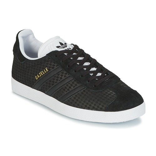 Chaussures Femme Baskets basses adidas Originals GAZELLE W Noir