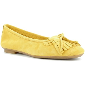 Chaussures Femme Ballerines / babies Reqins Ballerines Femme  - HINDI PEAU Ocre