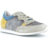 Chaussures Femme Baskets basses Reqins Baskets Femmes - ELVIS MIX SEQUINS Jeans / Ocre