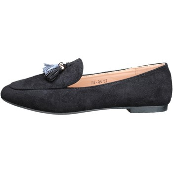 Chaussures Femme Mocassins Lily Shoes Jn-06 Black Noir