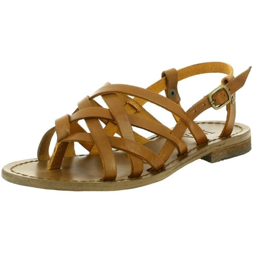 Iota 322 marron - Chaussures Sandale Femme
