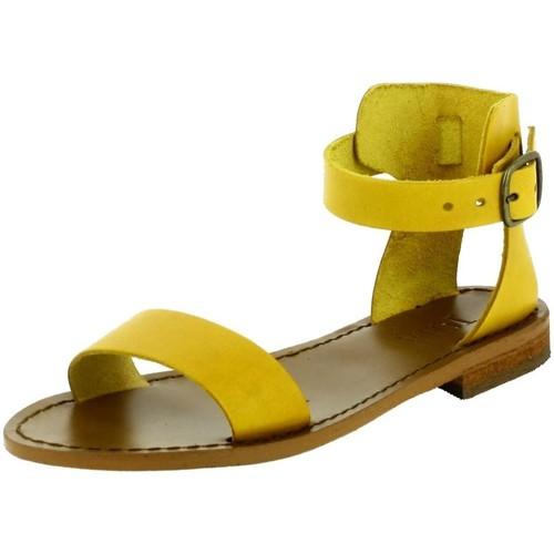 Iota 147 jaune - Chaussures Sandale Femme