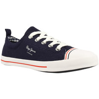 Chaussures Femme Baskets basses Pepe jeans GERY BASS-585MARINE Blue