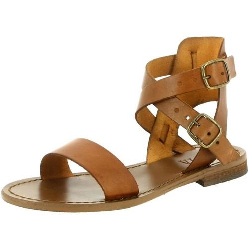 Iota 720 marron - Chaussures Sandale Femme