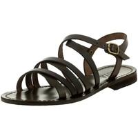 Chaussures Femme Sandales et Nu-pieds Iota 539 MARRON
