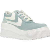 Chaussures Femme Baskets mode Go Sexy X Yellow FAMOUS Blue