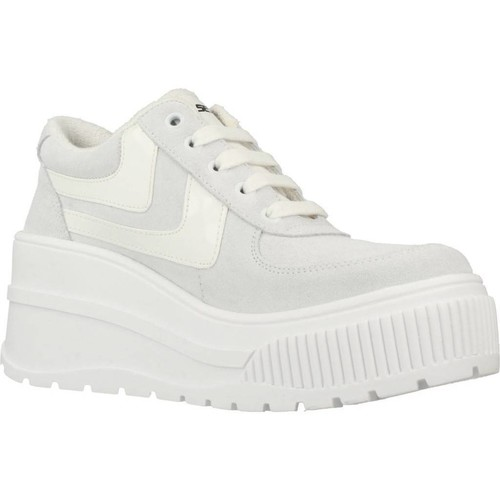 Go Sexy X Yellow FAMOUS GO SEXY Blanc - Chaussures Baskets basses Femme