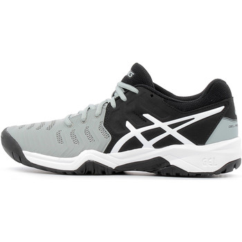 Chaussures Homme Sport Indoor Asics Gel Resolution 7 GS Mid Grey