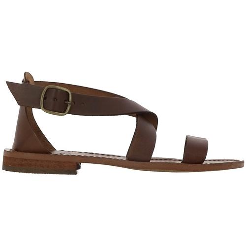 Iota 112 marron - Chaussures Sandale Femme
