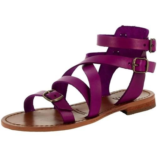 Iota 046 violet - Chaussures Sandale Femme
