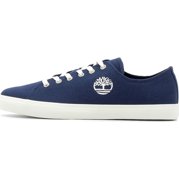 Chaussures Homme Baskets basses Timberland Newport Bay Lace-Up Navy Canvas