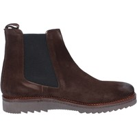 Chaussures Homme Boots Salvo Barone bottines marron daim BZ141 marron