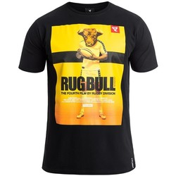 Vêtements Homme T-shirts manches courtes Rugby Division T-shirts homme RUGBULL Noir