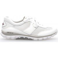 Chaussures Femme Baskets basses Gabor Baskets Rollingsoft beiges Blanc