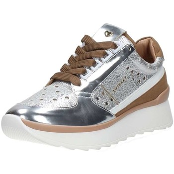 Chaussures Femme Baskets basses Twin Set Cs8pkc Sneaker argent