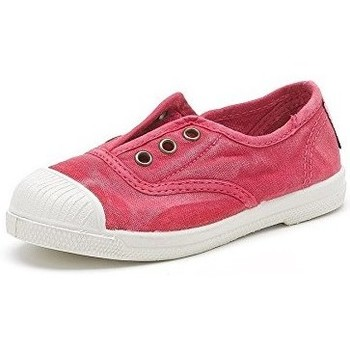 Chaussures Fille Baskets basses Natural World Baskets 470E rouges rouge
