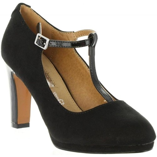 Maria Mare 61892 noir - Chaussures Escarpins Femme
