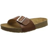 Chaussures Femme Mules Haflinger 819015 marron