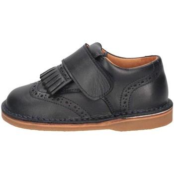 Chaussures Fille Derbies Eli 2212P French shoes Enfant Bleu Bleu