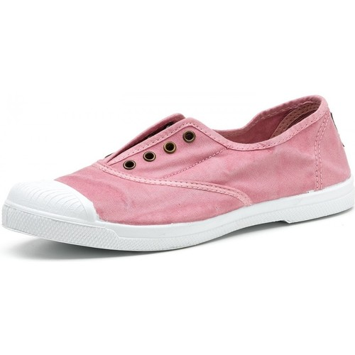 Natural World Baskets 102E roses rose - Chaussures Baskets basses Femme