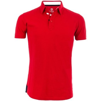 Vêtements Homme Polos manches courtes The Weekenders Polo Manches Courtes en coton The Driver Rouge