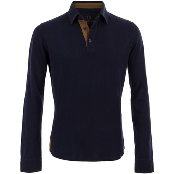Polo The Weekenders Polo Manches Longues en coton Navy The Mountaineer