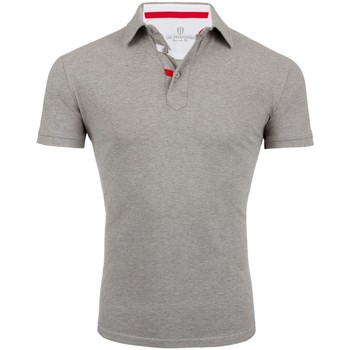 Vêtements Homme Polos manches courtes The Weekenders Polo Manches Courtes en coton The Driver Gris chiné