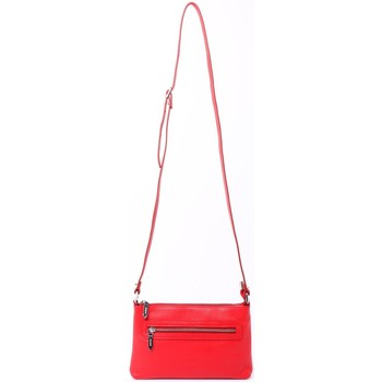 Sacs Femme Besaces Cherry Paris MARINE Sac pochette travers Rouge
