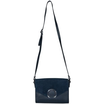 Sacs Femme Besaces Cherry Paris ANAELLE sac porté travers Bleu marine