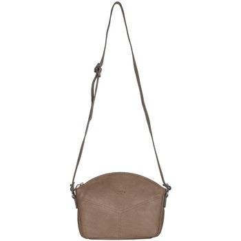 Sacs Femme Besaces Cherry Paris SIRINE sac porté travers Taupe