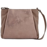 Sacs Femme Besaces Cherry Paris MARGUERITE sac porté travers Taupe