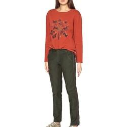 Vêtements Femme Chinos / Carrots Reiko SANDY HERRING Vert