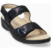 Chaussures Femme Sandales et Nu-pieds Mephisto Sandale nubuck GETHA Bleu