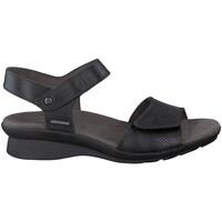 Chaussures Femme Sandales et Nu-pieds Mephisto Sandale cuir PATTIE Noir