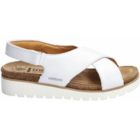 Chaussures Femme Sandales et Nu-pieds Mephisto Sandales TALLY bleu marine Marron