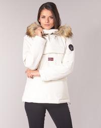 Vêtements Femme Parkas Napapijri SKIDOO Blanc
