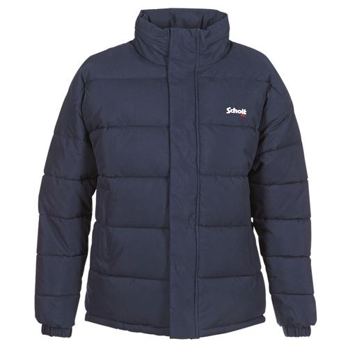 Vêtements Doudounes Schott NEBRASKA Marine