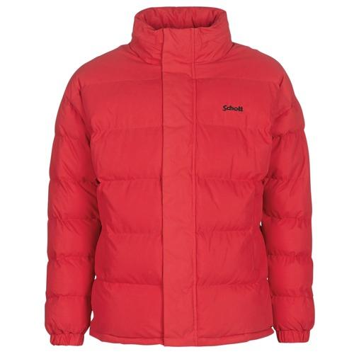 Manteau schott femme rouge