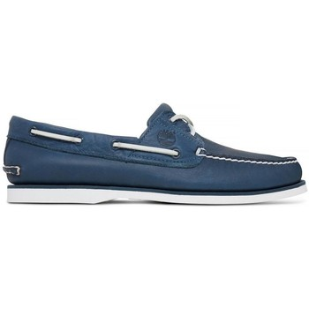 Chaussures Homme Chaussures bateau Timberland Chaussures  Classic Boat 2 Eye Navy Bleu Marine