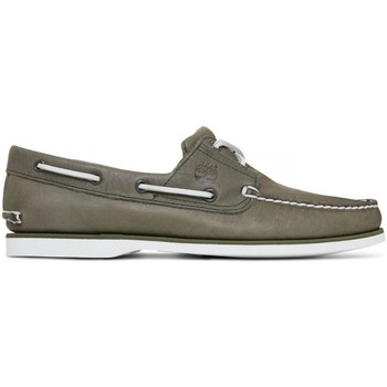 Chaussures Homme Chaussures bateau Timberland Chaussures  Classic Boat 2 Eye Grape Leaf Vert
