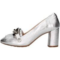 Chaussures Femme Escarpins Paola Ghia 7820 Mocassin Femme argent argent