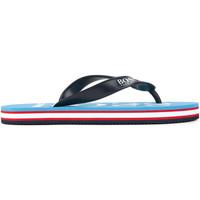 Chaussures Garçon Tongs HUGO Tong Hugo Boss Junior - Ref. J29148-75G Bleu