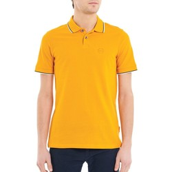Vêtements Homme Polos manches courtes Armani Exchange POLO PIPING COL JAUNE