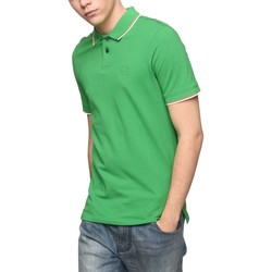 Vêtements Homme Polos manches courtes Armani Exchange POLO PIPING COL VERT
