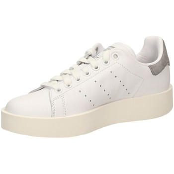 Chaussures Femme Baskets basses adidas Originals STAN SMITH BOLD W blanc