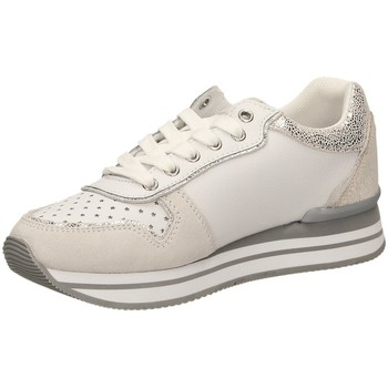 Chaussures Femme Baskets basses Trussardi RUNNING LAMINATED blanc
